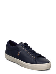 Longwood Leather Sneaker - NEWPORT NAVY