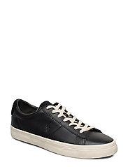 Sayer Calfskin Sneaker - BLACK