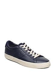 Sayer Calfskin Sneaker - NEWPORT NAVY