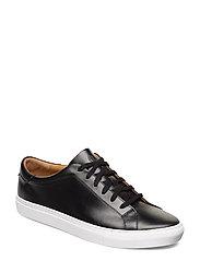 Jermain Leather Sneaker - BLACK