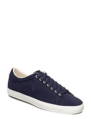 Longwood Leather Sneaker - NAVY