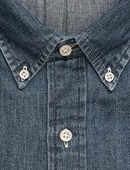 Polo Ralph Lauren - Slim Fit Chambray Shirt - farkkupaidat - dark wash - 5