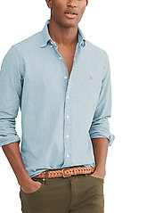 Polo Ralph Lauren - Slim Fit Chambray Shirt - denim overhemden - medium wash - 7