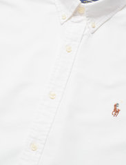 Polo Ralph Lauren - Slim Fit Cotton Oxford Shirt - basic shirts - white - 7