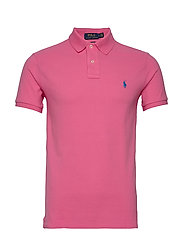 Slim Fit Mesh Polo Shirt - BLAZE KNOCKOUT PI