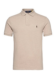 Slim Fit Mesh Polo Shirt - EXPEDITION DUNE H