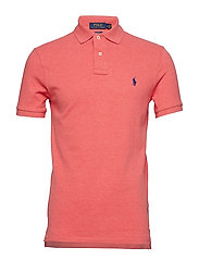 Slim Fit Mesh Polo Shirt - HIGHLAND ROSE HEA
