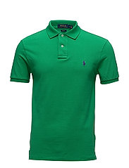 Slim Fit Mesh Polo Shirt