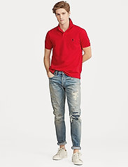 Polo Ralph Lauren - Slim Fit Mesh Polo Shirt - krótki rękaw - rl2000 red - 4