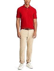 Polo Ralph Lauren - Slim Fit Mesh Polo Shirt - krótki rękaw - rl2000 red - 5