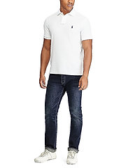 Polo Ralph Lauren - Slim Fit Mesh Polo Shirt - short-sleeved polos - white - 3