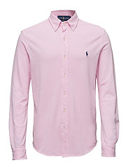 Custom Fit Featherweight Mesh Shirt - CARMEL PINK