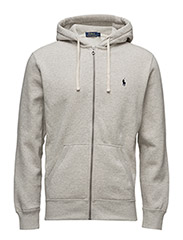 Cotton-Blend Fleece Hoodie - LT SPT HEATHER