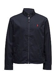 Cotton Twill Jacket - COLLEGE NAVY