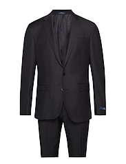 Polo Wool Twill Suit - CHARCOAL