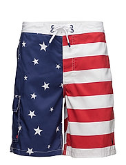 KAILUA TRUNK-SWIM - AMERICANA FLAG