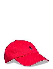 Cotton Chino Baseball Cap - RL 2000 RED/FB