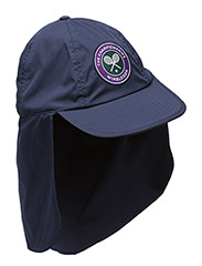 Wimbledon Cotton-blend Sun Cap - FRENCH NAVY