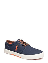 Faxon Low Canvas Sneaker - NAVY