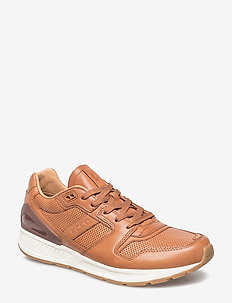 Train 100 Calfskin Sneaker - POLO  TAN