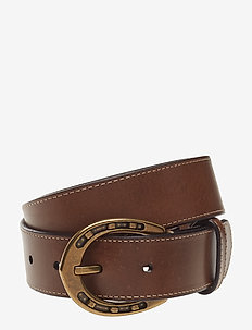 Equestrian Harness Belt - BROWN