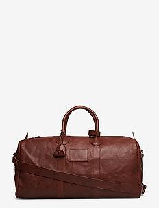 Leather Proprietor Duffel - SADDLE