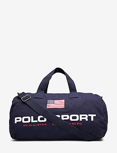 Canvas Polo Sport Duffel - weekend bags - navy