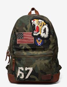 Camo Canvas Backpack - plecaki - camo