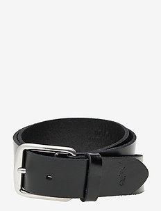 Saddle Leather Dress Belt - skärp - black
