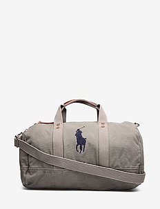 Big Pony Canvas Duffel - viikonloppulaukut - college grey