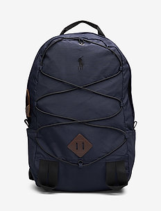 COTTON/NYLON-MNTN BKPK PP-BPK-SYN - NAVY