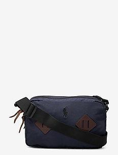 Mountain Crossbody Bag - shoulder bags - navy
