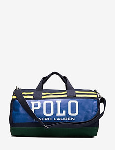 Polo Canvas Duffel Bag - navy