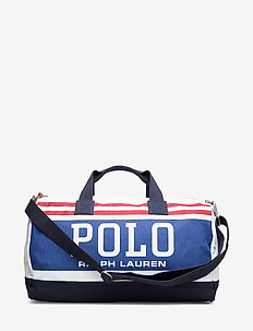 Polo Canvas Duffel Bag - weekend bags - white