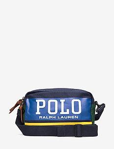 Polo Canvas Crossbody Bag - schultertaschen - navy
