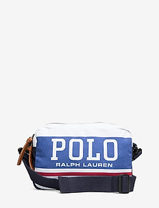 Polo Canvas Crossbody Bag - WHITE