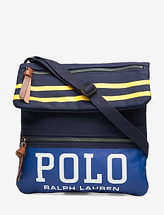 Polo Canvas Media Bag - olkalaukut - navy