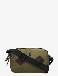 Mountain Crossbody Bag - shoulder bags - olive