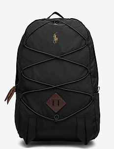 Lightweight Mountain Backpack - reput - black