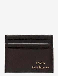 Leather Card Case - kartenetuis - brown