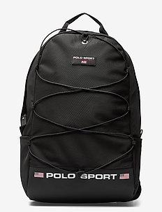 Polo Sport Nylon Backpack - backpacks - black
