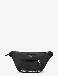 Polo Sport Nylon Backpack - bum bags - black
