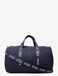 Big Pony Canvas Duffel Bag - weekend bags - navy/green