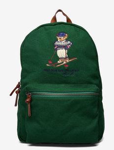 Polo Bear Canvas Backpack - sacs à dos - green