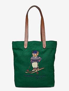 Polo Bear Twill Shopper Tote - shopper-taschen - green