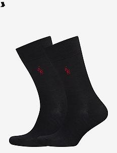 MERINO-2 PACK MERINO SLACK - regular socks - navy