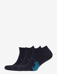 3PK BPP LC-SOCKS-3 PACK - 418 - NAVY/BLUE