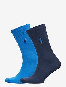 Stretch Cotton Sock 2-Pack - COLBY BLUE/HERITA
