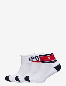 POLYESTER SPANDEX-3PK FLAG-AKL-3PK - WHITE