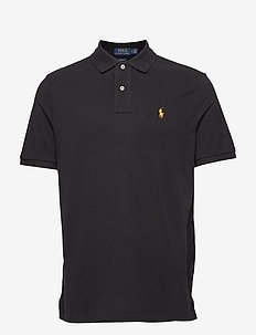 SS KC CLASSIC FIT MODEL 1 - POLO BLACK/GOLD P